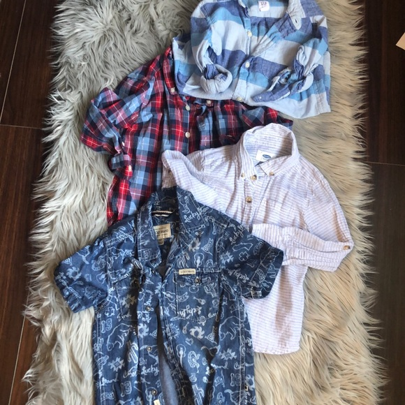 GAP Other - 4t Button downs